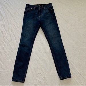 Zara Woman Premium Denim High Waist Skinny Jeans